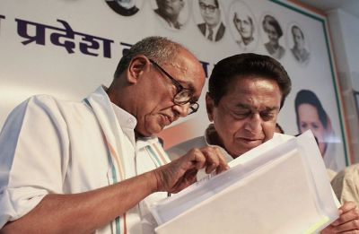 Will contest from anywhere Rahul Gandhi asks me to: Digvijaya Singh to Kamal Nath