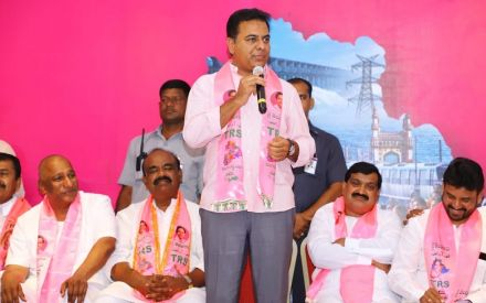 Massive jolt to Congress in Telangana as seven party MLAs join TRS ahead of LS polls