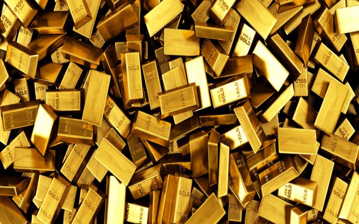 In the international market, gold prices were trading in the green (Image: File)