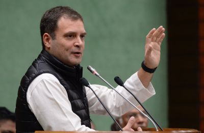 Lok Sabha Elections: Congress president Rahul Gandhi to blow poll bugle in NE states