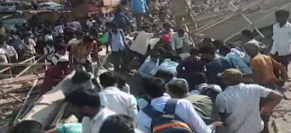 Under-construction building collapses in Karnataka's Dharwad, many feared trapped