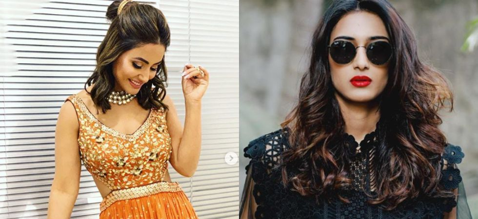 Amidst rumours of tiff, Hina and Erica celebrate Holi in Kasauti Zindagii Kay 2 sets (Instagram)