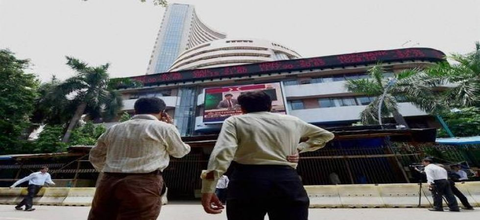 Sensex rises 23 points to end at 38,387(file photo)
