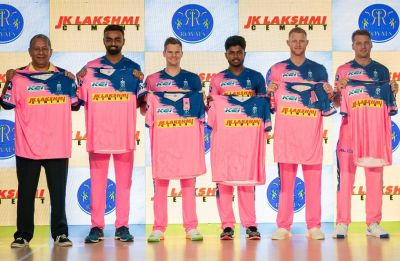 IPL 2019: Rajasthan Royals unveil their new jersey for upcoming season