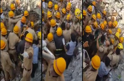 Dharwad Tragedy: This man survives tonnes of debris, rescued alive after 62 hours