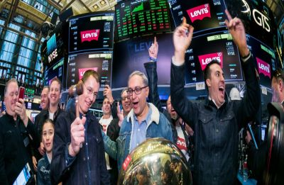 Levi Strauss goes public again, NYSE trading floor goes into denim mode