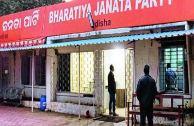 Angry over ticket distribution, BJP candidates lock party's Odisha headquarters