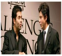 Shah Rukh Khan REACTS to #ShameOnKaranJohar trend, says Johar is 'technologically challenged' with 'fat fingers'