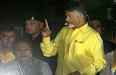 'Voting for YSR Congress like writing death warrant,' says Chandrababu Naidu