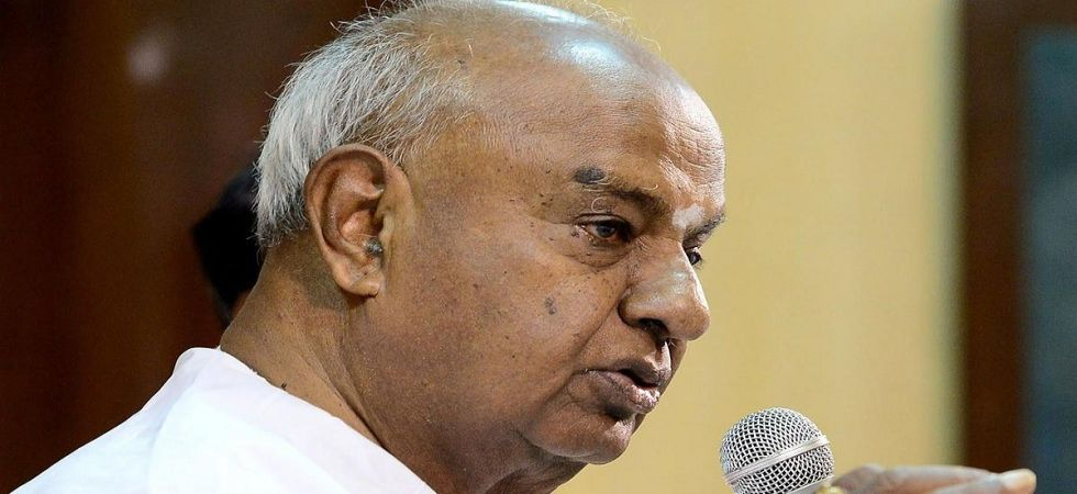 Deve Gowda ends suspense, to contest Lok Sabha polls from Tumkur (File Photo)