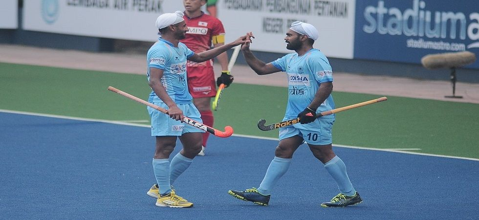 India were boosted by goals from Varun Kumar and Simranjeet Singh in the Sultan Azlan Shah Hockey tournament. (Image credit: Hockey India Twitter)