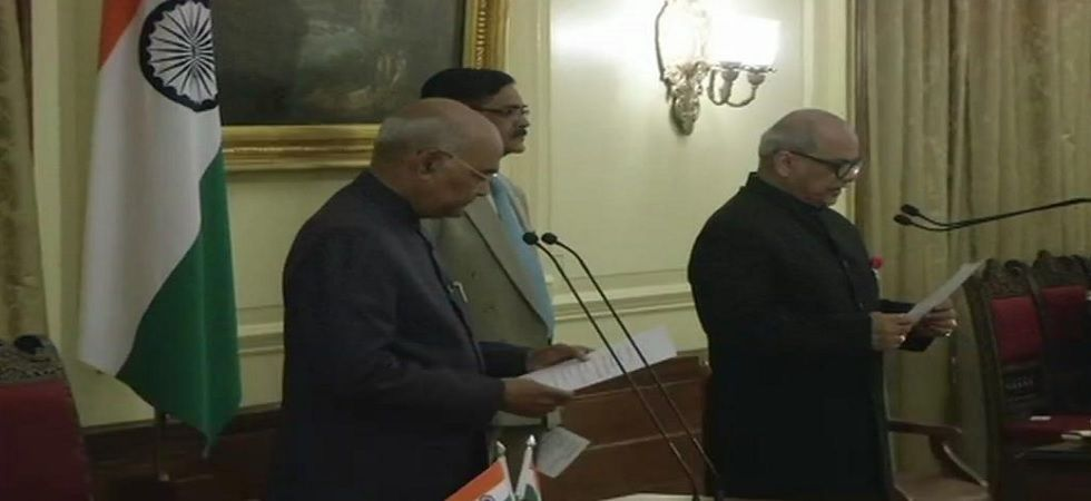 Former Supreme Court Judge Justice Pinaki Chandra Ghose on Saturday took oath as India's first Lokpal