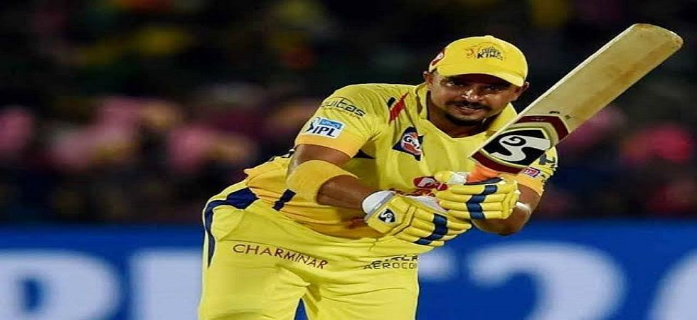 Suresh Raina became the first player to reach 5000 runs in the Indian Premier League during Chennai Super Kings' win over Royal Challengers Bangalore. (Image credit: Twitter)