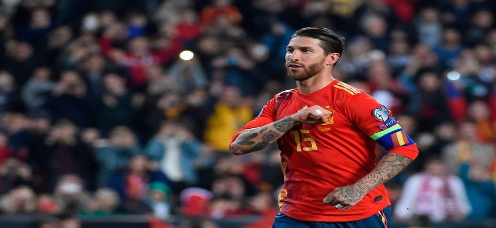 Sergio Ramos scored for Spain as they overcame a spirited fightback from Norway in the Euro 2020 qualifer. (Image credit: Twitter)