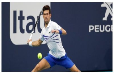 Novak Djokovic stays on course for record seventh Miami Open title