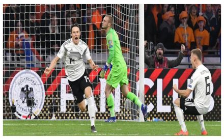 German World Cup Team 2020.Euro 2020 Qualifiers Germany Overcome Netherlands In