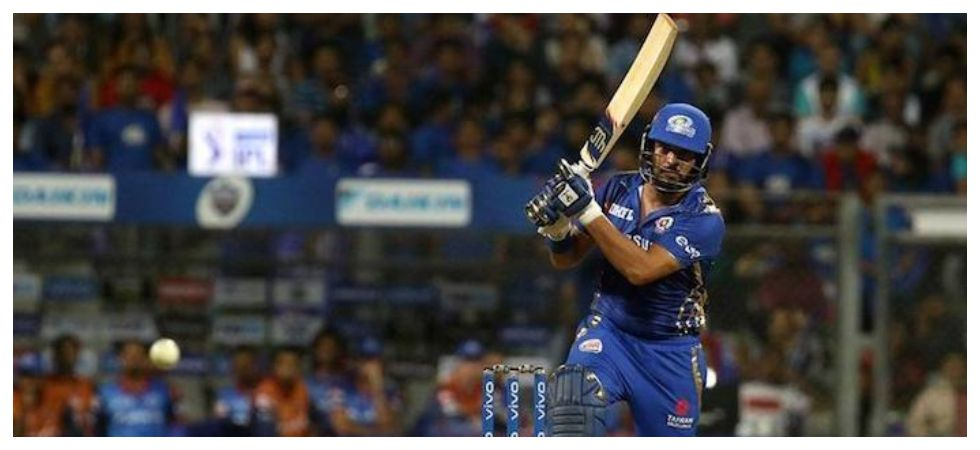 Yuvraj Singh scored 53 off 35 balls but it went in vain as Mumbai Indians lost by 37 runs to Delhi Capitals at the Wankhede stadium. (Image credit: Twitter)