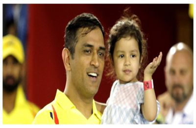MS Dhoni and his multi-lingual interaction with daughter Ziva will warm your hearts