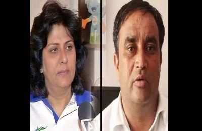 Paralympian Deepa Malik and INLD MLA Kehar Singh Rawat join BJP