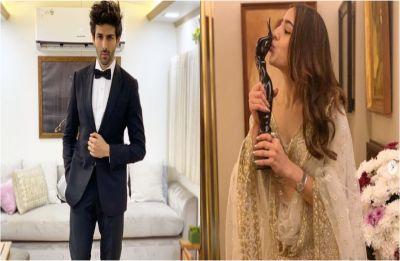 Kartik Aaryan on Sara Ali Khan's Filmfare win: 'Ab toh coffee se kaam nahin chalega, Dilli mein party karte hain'