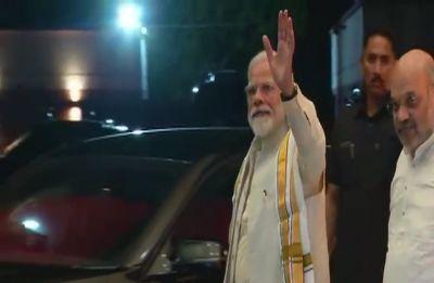 Lok Sabha Elections LIVE: PM Modi, top leaders arrive at BJP headquarters for CEC meeting