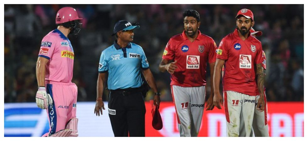 Ravichandran Ashwin's Mankading of Jos Buttler has drawn sharp criticism from former England and Australia players. (Image credit: ICC Twitter)