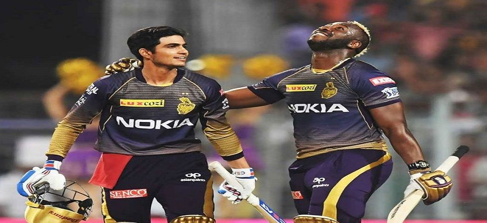 Andre Russell's exploits against Sunrisers Hyderabad will be vital if they have to counter Kings XI Punjab's Gayle force. (Image credit: Twitter)