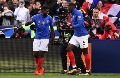 Euro 2020 qualifiers: France go on top of Group H with win over Iceland
