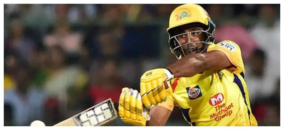 Ambati Rayudu fell cheaply in Chennai Super Kings' game against Delhi Capitals at the Feroz Shah Kotla. (Image credit: Twitter)