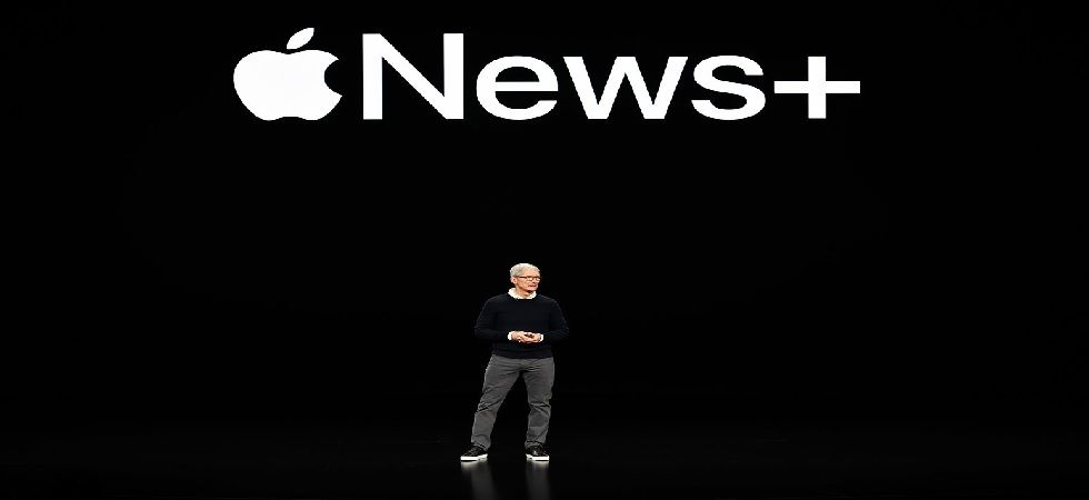Apple has announced three new subscription services, including a TV service, gaming bundle, and all-you-can-read magazine subscription (Photo: Twitter@billboard)