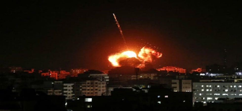 The flare-up comes at a highly sensitive time for Israel, which holds elections on April 9. (Photo: Twitter)