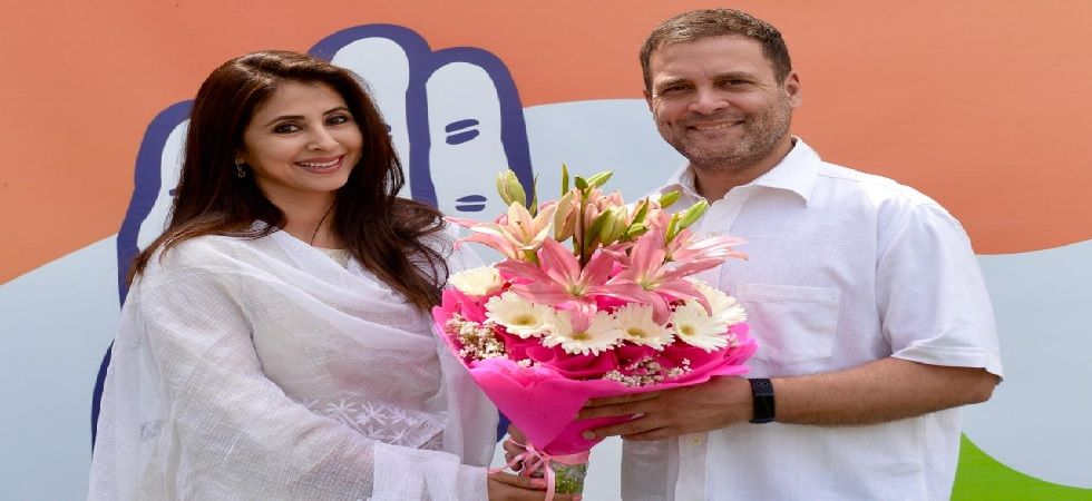 Urmila Matondkar, veteran Bollywood actor, joins Congress in presence of Rahul Gandhi
