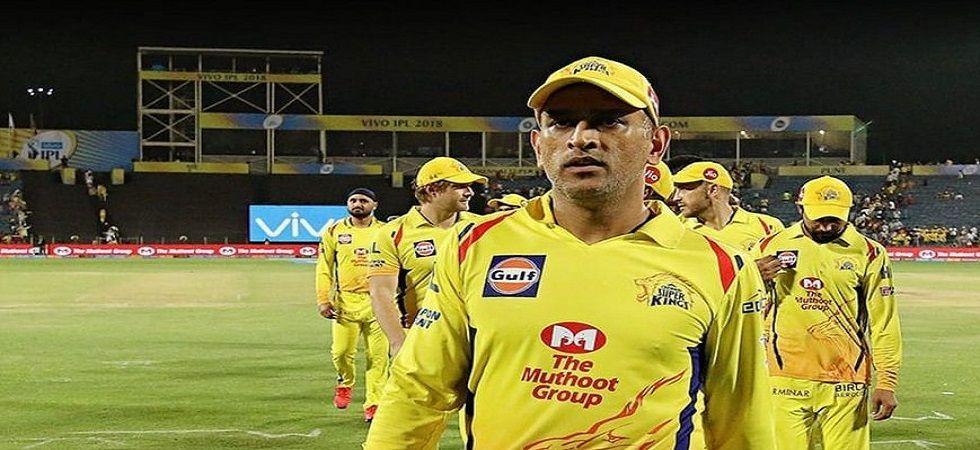 Chennai Super Kings captain Mahendra Singh Dhoni