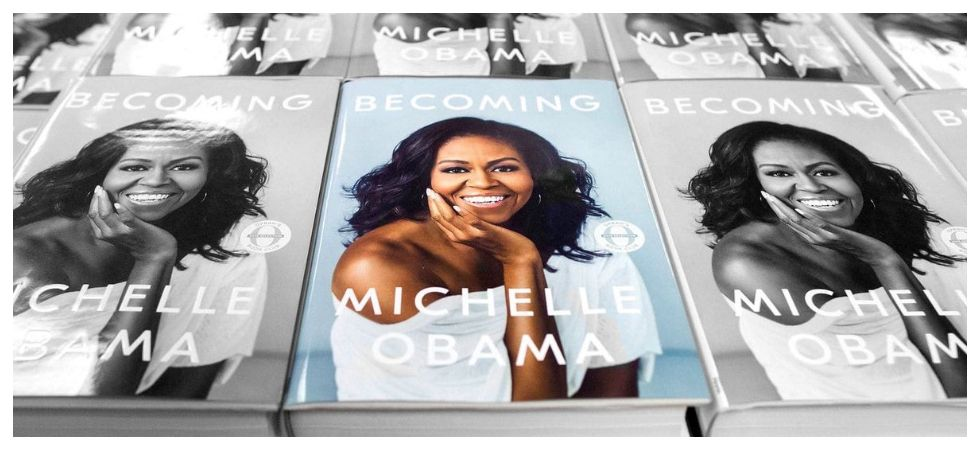 Michelle Obama's' Becoming' is best-selling memoir ever (Photo: Twitter)