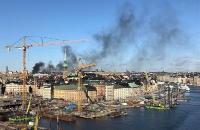Huge explosion rocks hotel, buildings in Swedish capital Stockholm, 5 injured