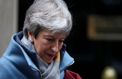 UK Prime Minister Theresa May says she will quit once Brexit is delivered