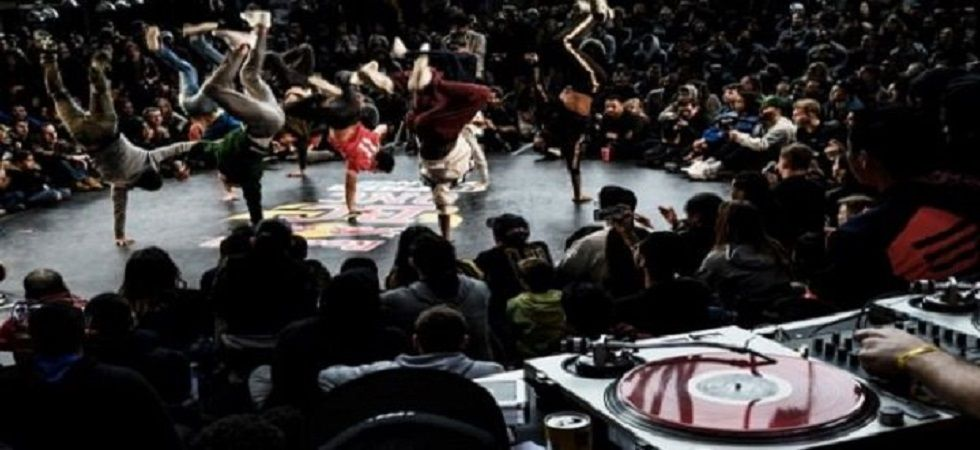 Breakdancing will be included as a sport in the 2024 Paris Olympics. (Image credit: Twitter)