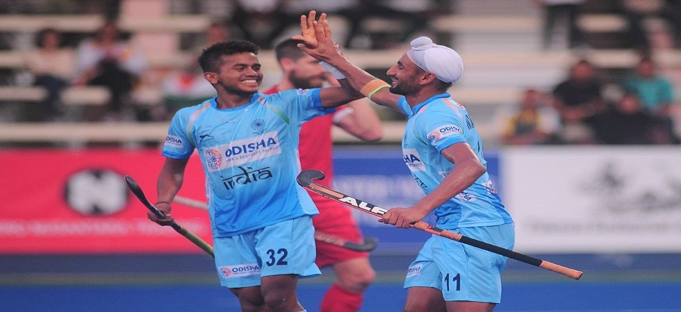 India's hockey team set up a summit clash with South Korea after thrashing Canada 7-3 in the Sultan Azlan Shah tournament. (Image credit: Twitter)