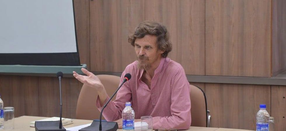 Jean Dreze was addressing a meeting in Garhwa district in violation of the Model Code of Conduct, a senior police officer said. (File Photo: Facebook)
