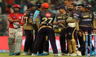 Russell's magic makes Kolkata Knight Riders reach top of the table