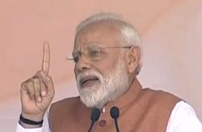 In Meerut mega election rally, PM Modi's powerful 'saboot vs sapoot' attack on Opposition