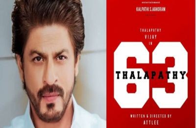 Shah Rukh Khan likely to share screen space with Vijay in Thalapathy 63