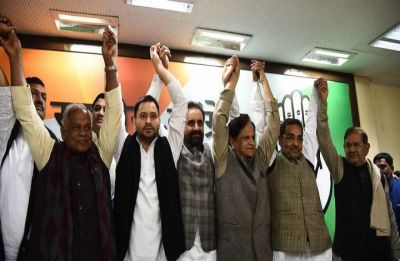 Know who gets what as 'Mahagathbandhan' announces distribution of seats in Bihar