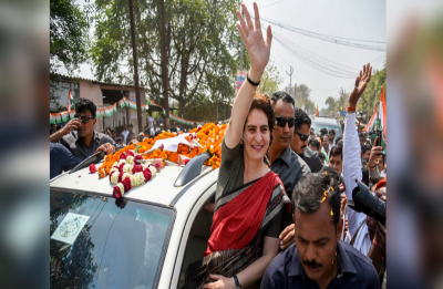 In Ayodhya, Priyanka Gandhi Vadra takes on PM: 'Globe-trotting Modi has no time for his Varanasi'