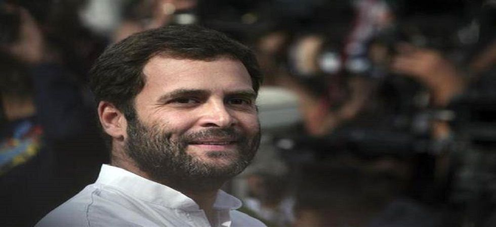 Rahul Gandhi  will also hold a roadshow in Radaur in Yamunanagar, a public meeting in Ladwa in Kurukshetra district, a roadshow in Indri and a public meeting and a road show in Karnal. (File photo)