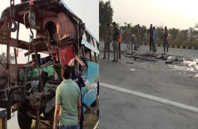 8 dead, 30 injured after bus rams into truck on Yamuna Expressway in Greater Noida