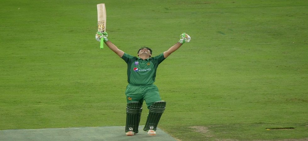 Abid Ali became the third Pakistan player after Saleem Elahi and Imam-ul-Haq to score centuries on ODI debut. (Image credit: Twitter)