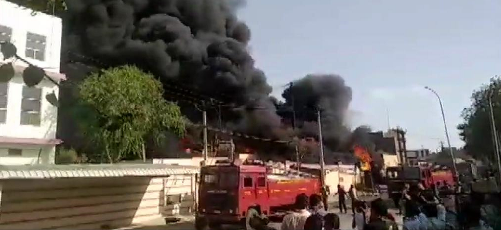 Rajasthan: Fire breaks out at chemical factory in Jodhpur's Basni Industrial Area