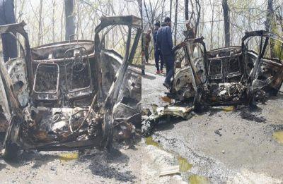 Blast near Jawahar Tunnel in J-K's Banihal, CRPF bus with 40 jawans suffers damage