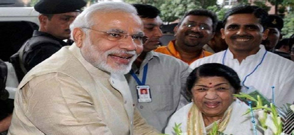 Lata Mangeshkar pays tribute to soldiers, inspired by PM Modi's speech (file photo)